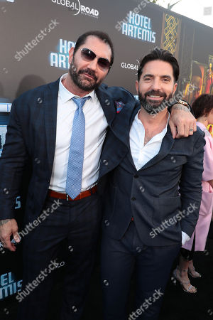 Dave Bautista, Drew Pearce, Director/Writer/Producer,