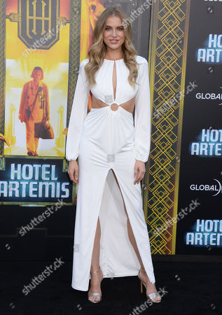 Editorial picture of 'Hotel Artemis' film premiere, Los Angeles, USA - 19 May 2018