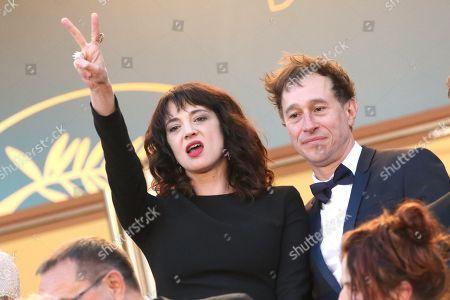 Asia Argento and Bertrand Bonello