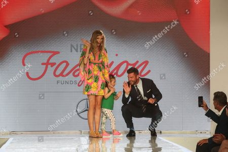 Jesse Palmer, Caroline Gallagher. Former NFL quarterback Jesse Palmer and pediatric cancer patient Caroline Gallagher, 4, wave to the crowds at the National Pediatric Cancer Foundation's Fashion Funds the Cure event in Tampa, FL on . The organization focuses on research to fast-track less toxic, more targeted treatments for children battling cancer. Learn more at NationalPCF.org