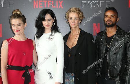 Rachael Taylor, Krysten Ritter, Janet McTeer, Eka Darville