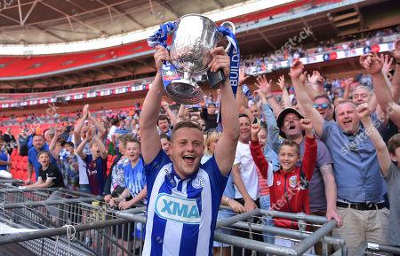 Editorial image of Stockton Town v Thatcham Town, The Buildbase FA Vase Final, Wembley Stadium, London, UK - 20 May 2018