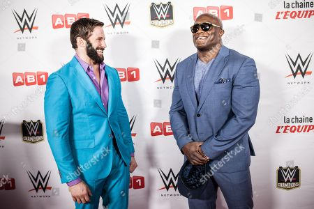 Stock Picture of Zack Ryder and Bobby Lashley