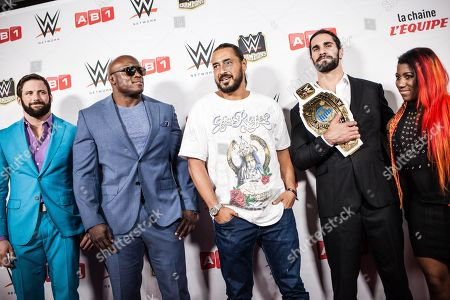 Editorial image of WWE Live, Paris, France - 19 May 2018
