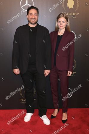 Editorial image of 77th Annual Peabody Awards, Arrivals, New York, USA - 19 May 2018