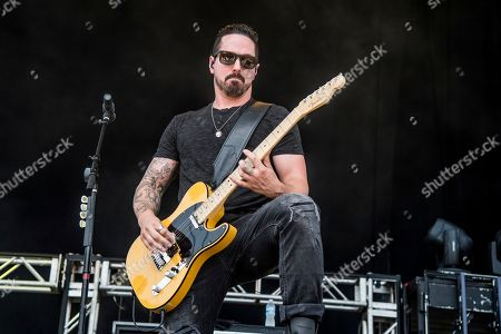 Dave McGarry of Red Sun Rising performs at the Rock On The Range Music Festival at Mapfre Stadium, in Columbus, Ohio