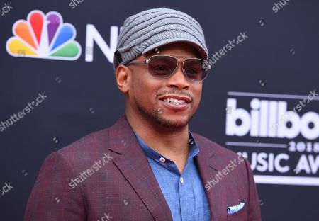 Sway Calloway arrives at the Billboard Music Awards at the MGM Grand Garden Arena, in Las Vegas
