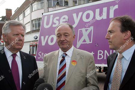 Steven Norris, Mayor For London Ken Livingstone and Simon Hughes
