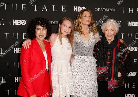 Jennifer Fox, Isabelle Nelisse, Laura Dern and Ellen Burstyn