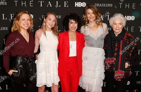 Tara Grace, Isabelle Nelisse, Jennifer Fox, Laura Dern and Ellen Burstyn