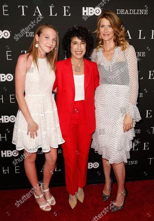 Isabelle Nelisse, Jennifer Fox and Laura Dern
