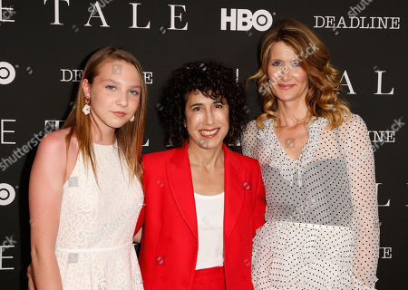 Stock Image of Isabelle Nelisse, Jennifer Fox and Laura Dern