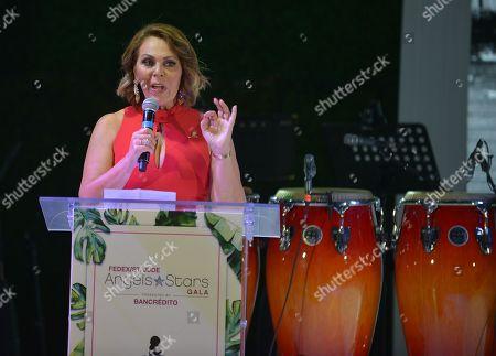 Stock Image of Maria Elena Salinas