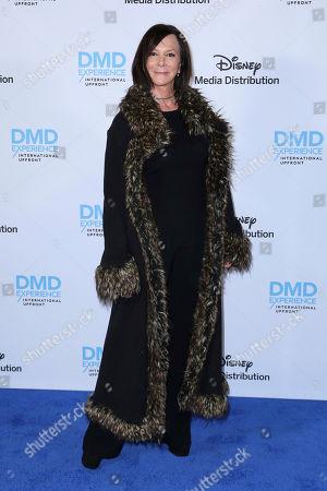 Marcia Clark arrives at the Disney's International Upfront Red Carpet at Disney Studios, in Burbank, Calif