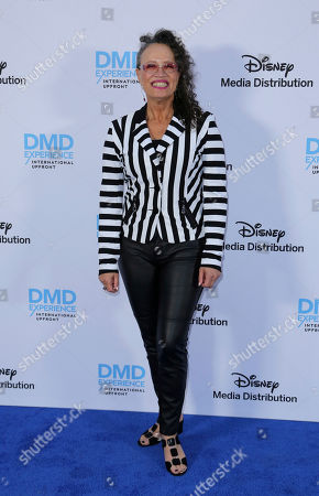 Stock Picture of Rena Owen arrives at the Disney's International Upfront Red Carpet at Disney Studios, in Burbank, Calif