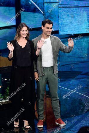 Flavia Pennetta with husband Fabio Fognini