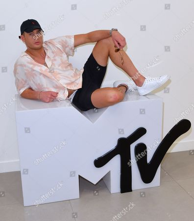 Scotty T at the MTV HQ in London ahead of the launch of 'Just Tattoo Of Us' Series 3