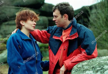 Ep 2521 Tuesday 11th May 1999 Rachel sets her mind on telling Graham it's all over during a picnic at the local beauty spot. As ever though Graham turns the tables and produces an engagement ring. Rachel accepts but starts to get angry when Graham starts talking about a wedding in the South, saying she has no intention of moving away. As temperatures rise Rachel senses danger, she tries to escape but Graham traps her on a clifftop. Soon Rachel realises Graham murdered his wife and after a struggle Graham pushes Rachel off a cliff - With Rachel Hughes, as played by Glenda McKay ; Graham Clark, as played by Kevin Pallister.