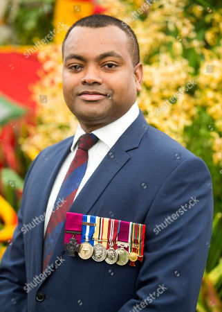 Lance Sergeant Johnson Beharry, who was awarded the Victoria Cross