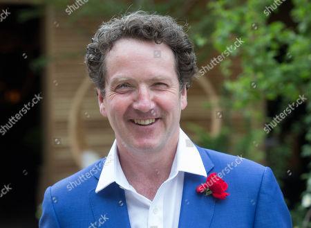 Irish Garden designer and TV Personality Diarmuid Gavin