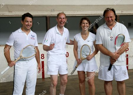 Real Tennis exhibition match, La Bastide Clairence