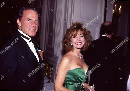 Washington Dc Usa July 2 1991 Frank and Kathy Lee Gifford Arrival at the White House For the State Dinner in Honor of the South Korean President Roh Tae Woo United States of America Washington