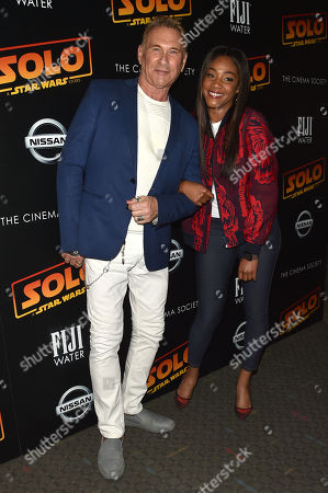 Editorial photo of 'Solo: A Star Wars Story' film premiere, Arrivals, New York, USA - 21 May 2018