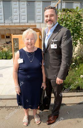 Kathleen Williams and David Walliams