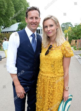 Brendan Cole and Zoe Hobbs