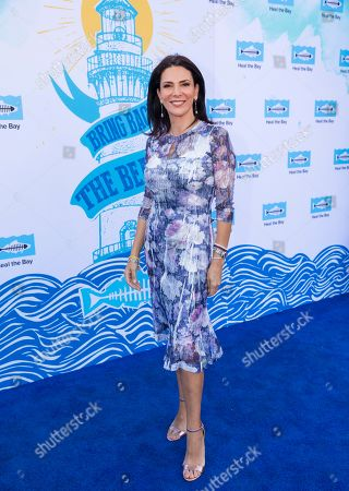 Gabriela Teissier arrives at the 2018 Heal the Bay Bring Back the Beach Gala, celebrating the accomplishments of honorees Los Angeles Mayor Eric Garcetti, Univision news anchor Gabriela Teissier and sustainability advocates Zooey Deschanel and Jacob Pechenik at The Jonathan Club on Thursday, May 17, in Santa Monica, CA