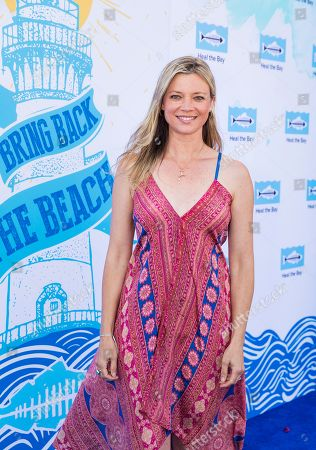 Amy Smart arrives at the 2018 Heal the Bay Bring Back the Beach Gala, celebrating the accomplishments of honorees Los Angeles Mayor Eric Garcetti, Univision news anchor Gabriela Teissier and sustainability advocates Zooey Deschanel and Jacob Pechenik at The Jonathan Club on Thursday, May 17, in Santa Monica, CA