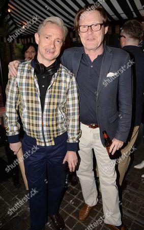 Stock Photo of Martin Freeman and Robert Elms