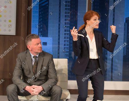 John Gordon Sinclair as Rick, Laura Pitt-Pulford as Melanie