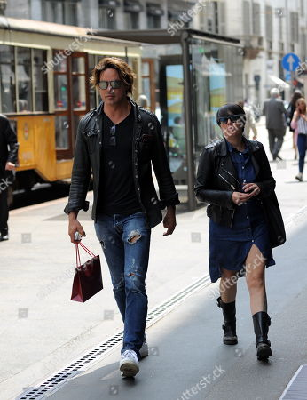 Editorial image of Gabriel Garko out and about, Milan, Italy - 21 May 2018
