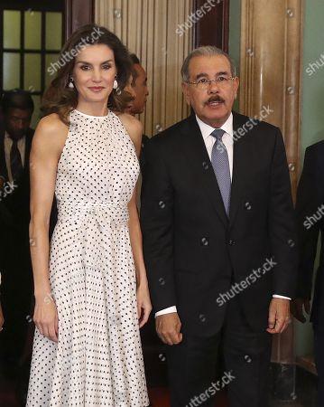 Queen Letizia visit to the Dominican Republic