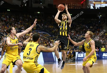 Dennis Clifford, Peyton Siva, Thomas Walkup, Luke Sikma