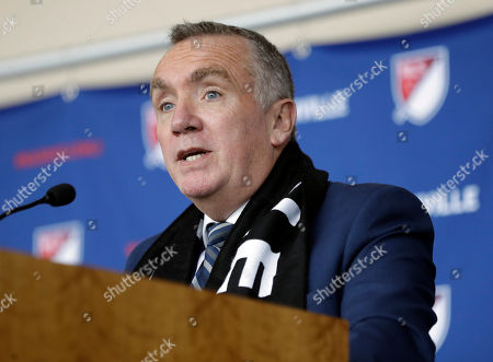 Editorial picture of MLS CEO, Nashville, USA - 21 May 2018