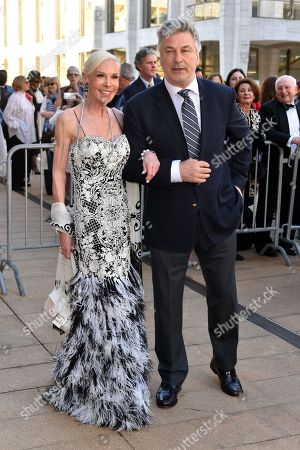 Stock Image of Michelle Herbert and Alec Baldwin