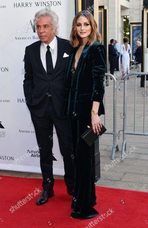 Giancarlo Giammetti and Olivia Palermo