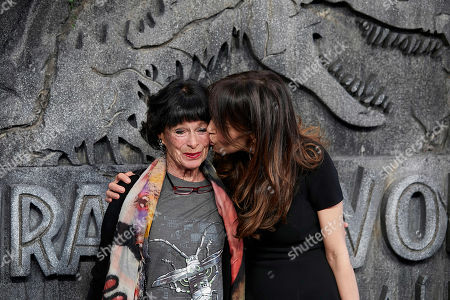 Dolores Chaplin and Geraldine Chaplin