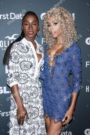 Angelica Ross and Isis King