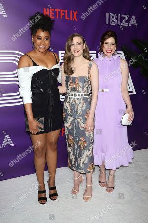Phoebe Robinson, Gillian Jacobs, Vanessa Bayer