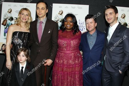 Claire Danes, Leo James Davis, Jim Parsons, Octavia Spencer, Silas Howard