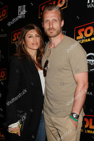 Jennifer Esposito with Guest