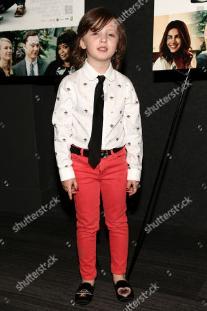 "Leo James Davis attends the premiere of IFC Film's ""A Kid Like Jake"" at the Landmark at 57 West, in New York"