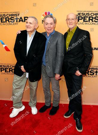 Craig Zadan, Sir Andrew Lloyd Webber and Neil Meron