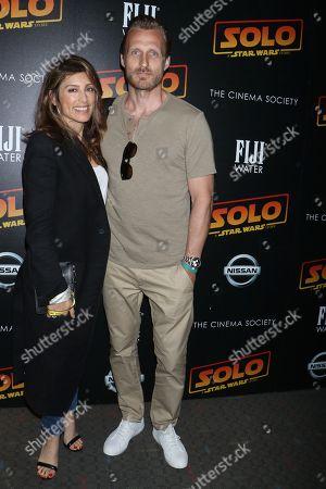 Editorial picture of 'Solo: A Star Wars Story' film premiere, Arrivals, New York, USA - 21 May 2018