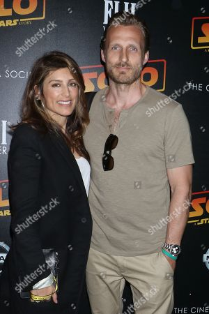 Stock Picture of Jennifer Esposito, Louis Dowler