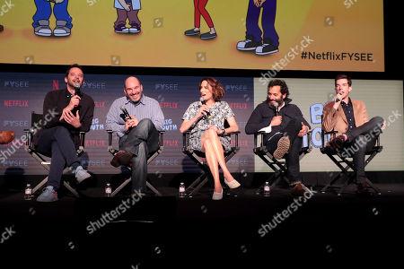 Nick Kroll, Andrew Goldberg, Executive Producer, Jessi Klein, Jason Mantzoukas, John Mulaney