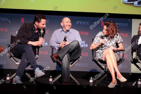 Nick Kroll, Andrew Goldberg, Executive Producer, Jessi Klein